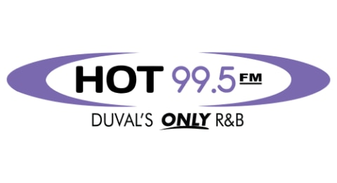 HOT 99.5 - Duval's ONLY R&B Logo