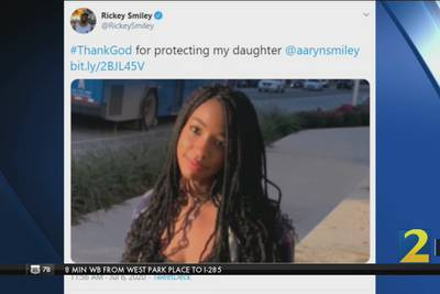 "Rickey Smiley's Daughter:  ""I'm Terrified"""
